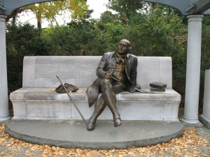 The George Mason Memorial in DC